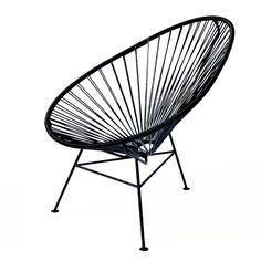 OK Design Aps OK Design   The Acapulco Chair, Schwarz Schwarz