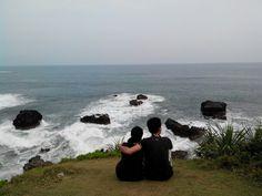 Ranca Buaya Beach, Garut, West Java ID