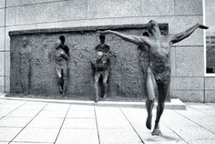 """Freedom"" by Zenos Frudakis in Philadelphia"