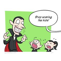 Stop scaring the kids!! #dentalhumor