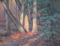 Five Trees by Christopher Leeper Oil ~ 24 x 30