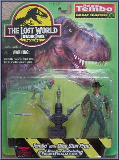 Kenner Jurassic Park: The Lost World Roland Tembo Figure 1996
