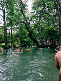 Texas Hill Country Vacation: The Blue Hole in Wimberley