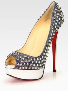 8d9581da3510 Sexy Jeans Rivet Platform Fashion Womens Shoes Red Bottom Shoes