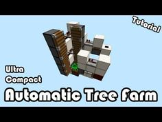 Automatic Tree Farm 1.8 [Ultra Compact 3x5 Base] Tutorial! - YouTube