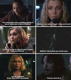 Clarke The 100, Greys Anatomy Facts, Lindsey Morgan, The 100 Clexa, The 100 Show, Lights Camera Action, Movie Couples, Bellarke, Tv Show Quotes