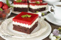 Polish Recipes, Polish Food, Food Cakes, Homemade Cakes, Cake Recipes, Cheesecake, Food And Drink, Sweet, Pizza