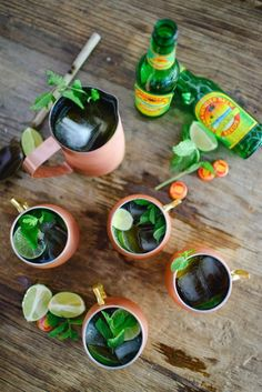 Mint Moscow Mule