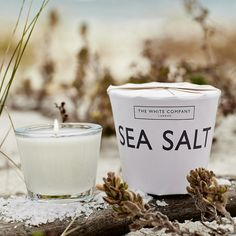 Sea Salt Votive | The White Company. Shopping from the US? -> http://us.thewhitecompany.com/Candles-and-Fragrance/Candles/Sea-Salt-Votive/p/CODCV?swatch=No+Colour