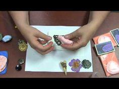 #DIY vídeo 14 minutos - YouTube - Fazer moldes para peças de massa polímera utilizando silicone de 2 partes - Christi Friesen - How To: Making Molds.