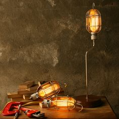 upcycled lamp @ fab.com