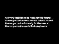 The Funeral - Band Of Horses (Lyrics) - YouTube