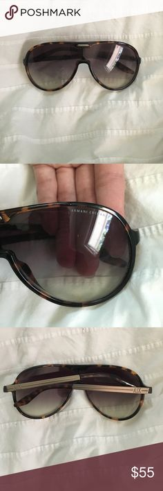 AX Sunglasses Old design, some scratches. Open to offers! A/X Armani Exchange Accessories Glasses