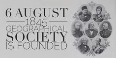 6 August The Russian Geographical Society is Founded High School Students, Student Learning, History, Historia, College Guys