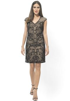 a711929e9b Buy Miss Selfridge Black Colored Solid Shift Dress Online - 4214391 - Jabong