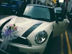 Mini cooper bridal car