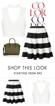 """Untitled #187"" by melinda-lancaster on Polyvore featuring Akris Punto and Givenchy"