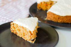 Carrot cake recipe - Dr. Axe (vegetarian - sub egg replacer for vegan)