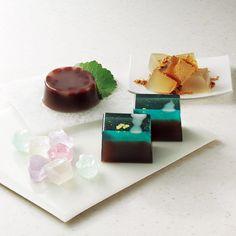 Japanese sweets, wagashi, 一力堂・彩雲堂・三英堂・風流堂 松江銘菓詰合せ  Hyakusen Confection