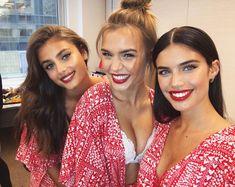 "6588579e6b Sara Sampaio on Instagram  ""Everything Valentine s Day today at the  victoriassecret  5th avenue store! 🤗❤💋😍  XOXOVictoria"""
