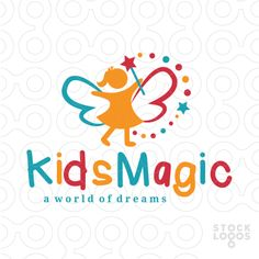Exclusive Customizable Logo For Sale: Magical Kids | StockLogos.com