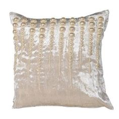 Pearl Baubles Cushion Cover