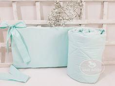 Nestchen - Nestchen pastell mint Gesteppte - ein Designerstück von LoveWhite bei DaWanda