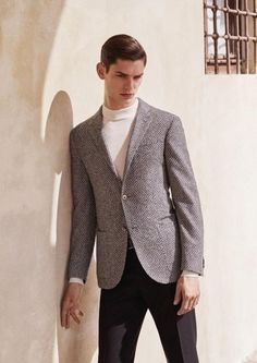 Corneliani FW15. Photo by Johan Sandberg.