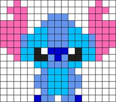 Little Stitch Perler Perler Bead Pattern / Bead Sprite
