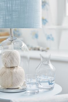 Find sophisticated detail in every Laura Ashley collection - home furnishings, children's room decor, and women, girls & men's fashion. Laura Ashley, Summer Time Blues, Cottage Lighting, Country Blue, White Cottage, Childrens Room Decor, Blue Bedroom, Pretty Pastel, Home Collections