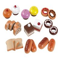 Toy Play Kitchen Play Food Cakes & Buns