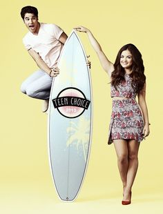 Darren and Lucy Hale