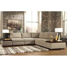 Best Williams Furniture Ideas Images On Pinterest Furniture - Sectional with built in table