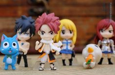 Kingwell Full Set of 6 Favorites Fairy Tail Anime Figures Characters Miniature Toy Figures Natsu Dragneel, Happy, Ezra Scarlet, Gray Fullbuster, Lucy Heartfilia, and Pue (A.k.a. Nokora) Figures Fantastic Job http://www.amazon.com/dp/B00IRRYMKC/ref=cm_sw_r_pi_dp_jf39tb08GB0YT