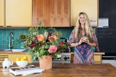 "House Tour: Molly Guy's Boho Digs #refinery29  http://www.refinery29.com/molly-guy-stone-fox-bride#slide9  So, what's the unifying theme behind your home's aesthetic? ""When I was in my early 20s, I lived in a lot of shoebox apartments in the East Village — little cramped spaces with cinderblock walls that had the toilet in the living room, overflowing ashtrays, and no closet space anywhere — all that stuff. There were Juergen Teller and Nan Goldin pictures taped to the walls with chewing ..."