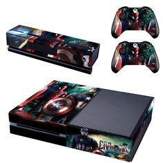 Share with someone who would love this! :)  http://www.hellodefiance.com/products/avenger-spidey-skin-xbox-one-protector?utm_campaign=social_autopilot&utm_source=pin&utm_medium=pin