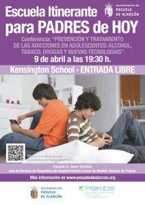 Addiction Prevention and Treatment Conference in adolescents #Madrid #Medico #salud #psicólogos #aprendizaje