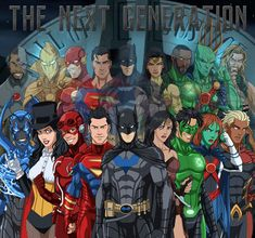 Justice League - The Next Generation by Daviddv1202