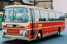 Plaxton 'ELITES' - The second and final batch of 'Elite' bodied AEC 'Reliance' 691s were delivered in 1972. All ten vehicles were fitted with high capacity seating and fleet no.1227 is photographed operating on the 5B service from Derby to Nottingham