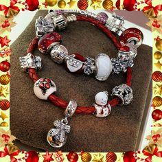 >>>Pandora Jewelry OFF! >>>Visit>> Bracelet Pandora Stars Etoiles Argent Silver Red Rouge Christmas Noel Bijoux et charms Pandora Beads, Pandora Bracelet Charms, Pandora Rings, Pandora Jewelry, Charm Jewelry, Charm Bracelets, Pandora Pandora, Mora Pandora, Pandora Collection