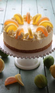 Raikas juustokakku | Maku Maple Cake, Just Eat It, Cake Business, Piece Of Cakes, Something Sweet, Confectionery, Cheesecakes, No Bake Cake, Cake Recipes
