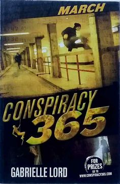 March by Gabrielle Lord Conspiracy 365 series good used condition paperback