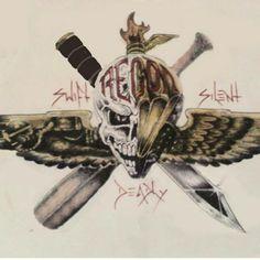 Usmc Recon, Marine Recon, Military Veterans, Military Art, Military Quotes, Military Life, Marine Corps Humor, Us Marine Corps, Once A Marine