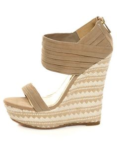 Bamboo Pompey 12 Wedges