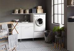 Här hittar du tvättmaskiner och torktumlare och alla andra praktiska prylar och förvaringslösningar till ditt grovkök. ✓Reportage, bilder och nyheter