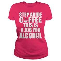 If you love Coffee and Alcohol, then you will understand this Tee Shirt.Coffee and Alcohol