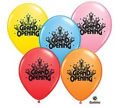 12 Grand Opening 11 Latex Balloons ASST COLORS *** You can get more details by clicking on the image. (This is an affiliate link)