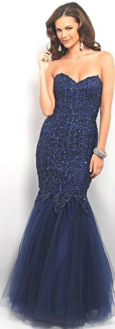 Prom Dress by BLUSH9595Midnight Mermaid!