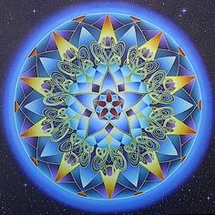 gorgeous artworks using sacred geometry and numerology..a visual manifestation of the invisible.