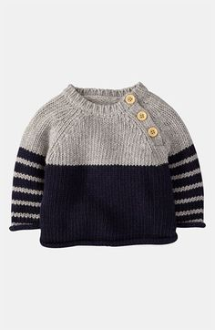 Mini Boden 'Winter' Sweater (Infant) | Nordstrom